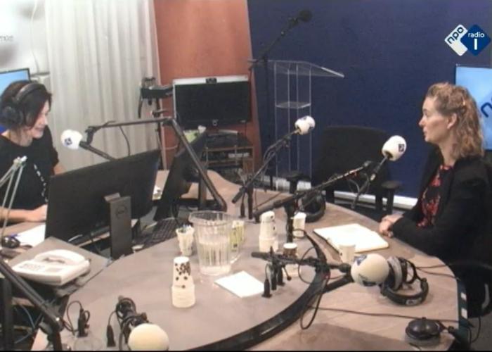 Leonie te gast bij Radio 1: Hoe gaan we zo snel mogelijk van het gas af?