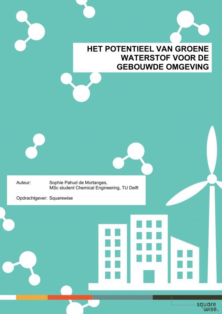 Het potentieel van groene waterstof voor de gebouwde omgeving